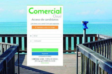 Crean una web para buscar comerciales