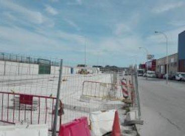 Problemas en las obras del polígono Villa Rosa