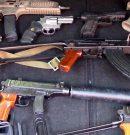 Localizan un arsenal de armas de guerra para la mafia en Málaga